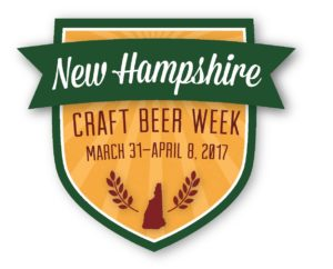 NH Craft Beer Week 2017 Official Logo